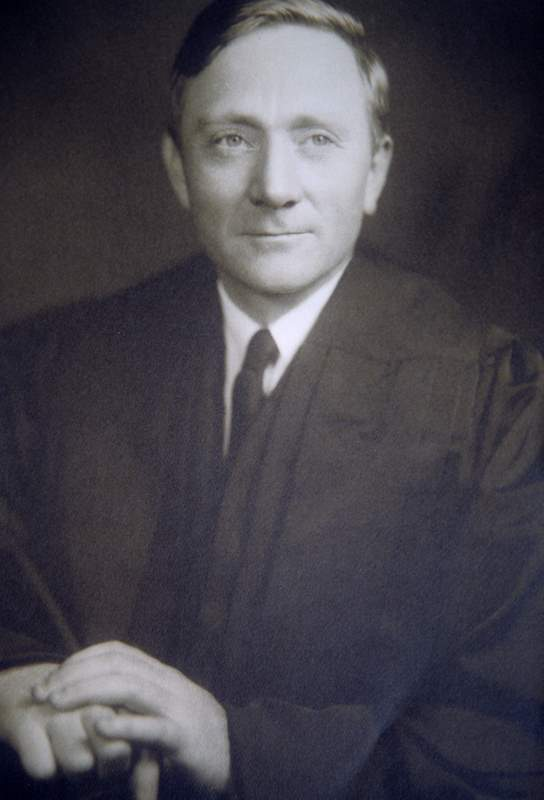 Supreme Court Justice William O. Douglas in 1939. Black and white.