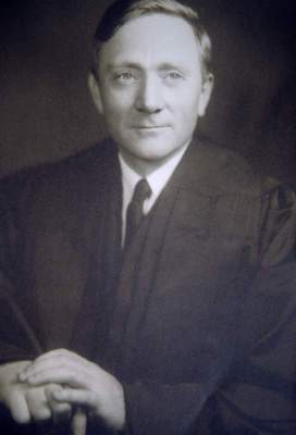 Supreme Court Justice William O. Douglas in 1939. Black and white.